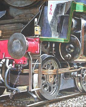 Martin Davey - steam engine bulleid merchant navy pacific 30005 study