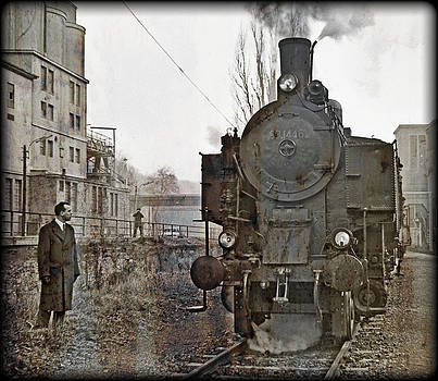 Steamlocomotive 93.1446 Pic.1 by Leopold Brix