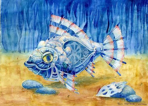 Steampunk Fish by Tania Vasylenko