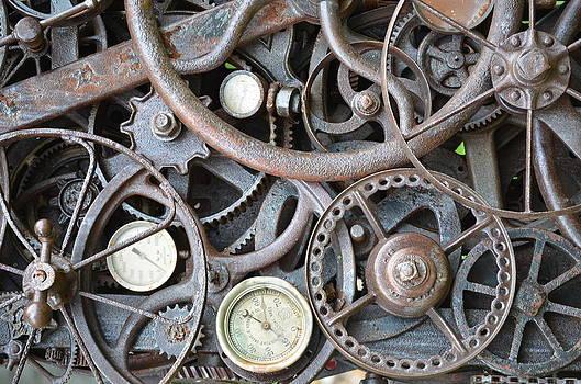 Steampunk Gears by Mandi Howard