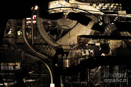 Wingsdomain Art and Photography - Steampunk Patent 1215 Prototype A . Gold Version