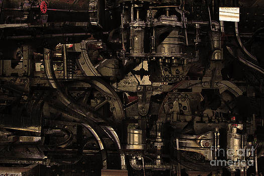 Wingsdomain Art and Photography - Steampunk Patent 1215 Prototype B . Gold Version