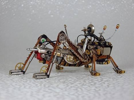 SteampunkClockpunkMechanical Bugs by Dmitriy Khristenko