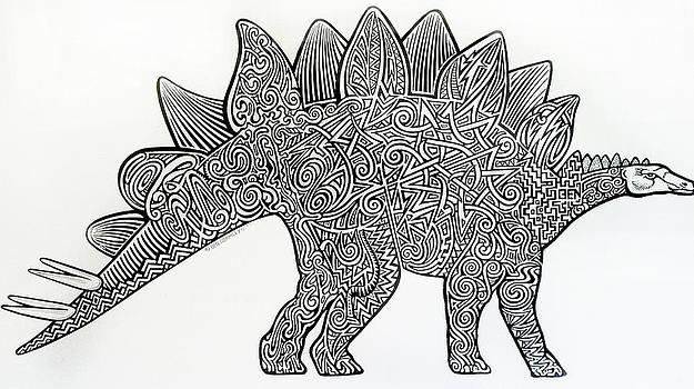 Stegosaurus by Ben Gormley