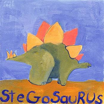 Stegosaurus by Jeanine Leclaire