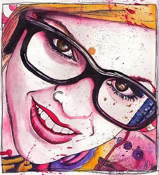 Stephanie Watercolor by Alycia Ryan