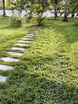 Kantilal Patel - Stepping Stones To Riverbank