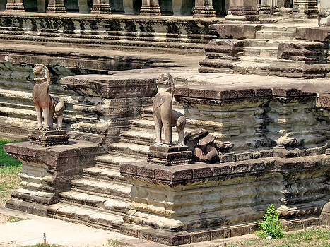 Roy Foos - Steps Outside Angkor Wat