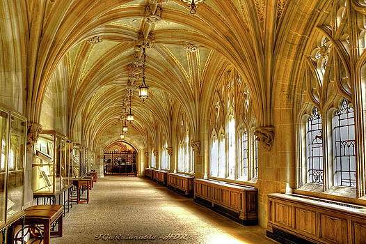 Sterling Memorial Library I by Frank Garciarubio