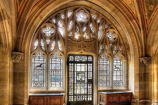 Sterling Memorial Library II by Frank Garciarubio