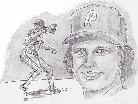 Chris  DelVecchio - Steve Carlton- Lefty
