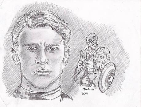 Chris  DelVecchio - Steve Rogers- Captain America