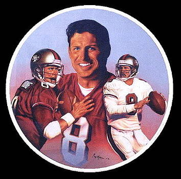 Steve Young by Cory McKee