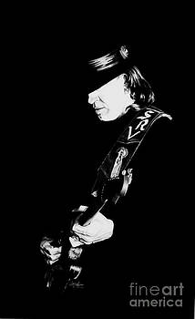 Stevie Ray Vaughn by Jerry Lee