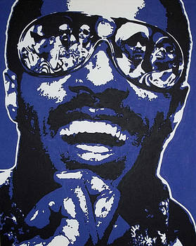 Stevie Wonder by Dan Carman