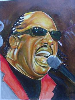 Stevie Wonder by James  Thompson