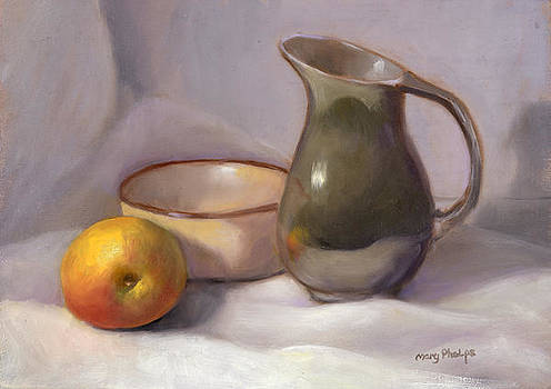 Stil Life With Apple by Mary Phelps