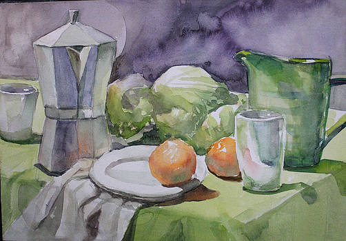 Still Life by Eun Yun