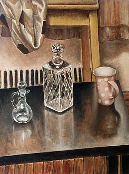 Still Life Glass by Vladimir Kezerashvili