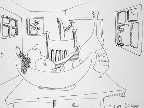 DENNY CASTO - Still life in the room