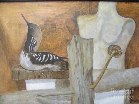 Still Life of Beach thoughts by Delores Swanson
