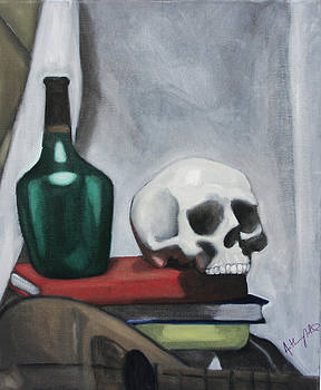 Still Life Skull by Anthony Nold