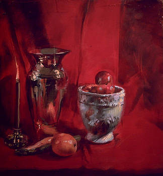 Still Life with Apples by Robert Dale Williams