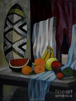 Still Life with Fruit by Jukka Nopsanen