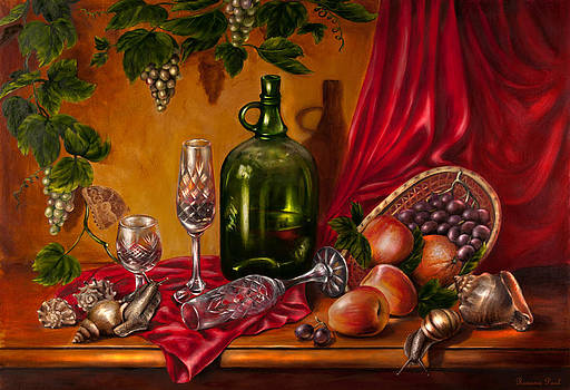 Still life with snails by Roxana Paul