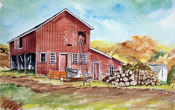 Stillwater Barn by LaReine McIlrath
