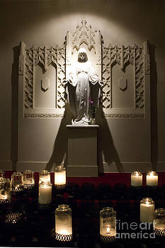 St.Mary's Candles of Light by Karl Monsos
