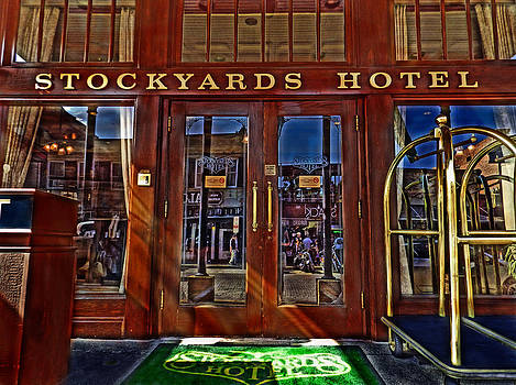 Stockyards Hotel by Mamie Thornbrue