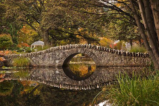 Stone Bridge Reflection by Graeme Knox