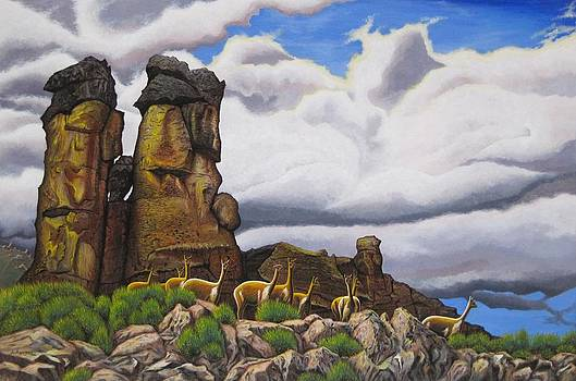 Stone Forest by Luis Aguirre