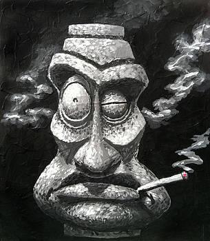 Stone Smoker Tiki by Trey Surtees