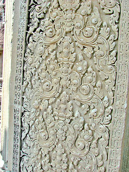 Roy Foos - Stonework Fascia Angkor Wat
