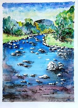 Stoney river by Baruch Neria-Kandel
