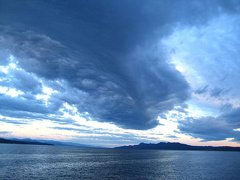 Storm Clouds Forming by Shawn Hegan