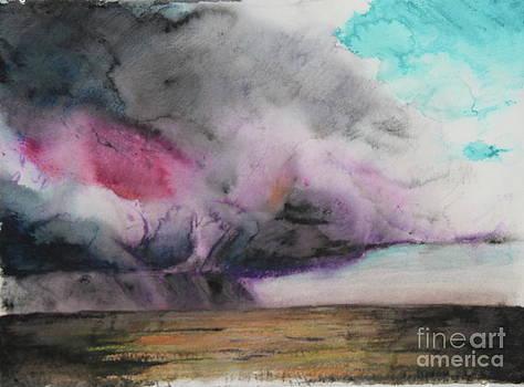 Storm Goddess Awakening by Steven  Nakamura