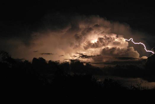 Storm over Ocracoke by Julie Strickland