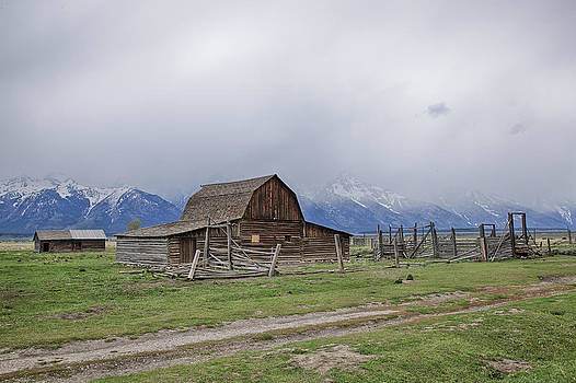 Jack R Perry - Stormy Barn