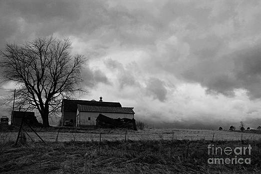 Larry Ricker - Stormy Day on the Farm