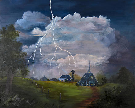 Stormy Evening by Jan Holman