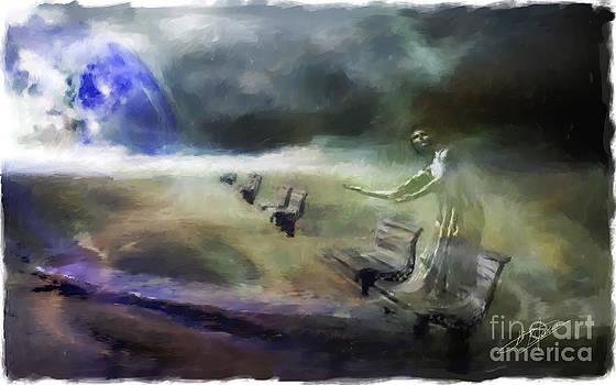 Stormy Figure by Pavlos Vlachos