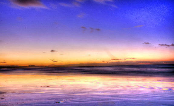Stradbroke Sunset by James Mcinnes