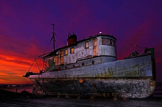 Stranded Sunset by Cary Ligon