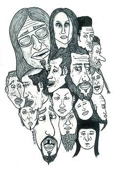 Strange Faces no. 2 by Steve Weber