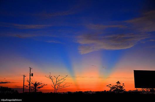 Strange Lights In The Sky by Enrique Rueda