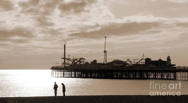 Strangers on the Shore by John Basford