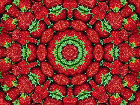Strawberries  by Karen R Scoville